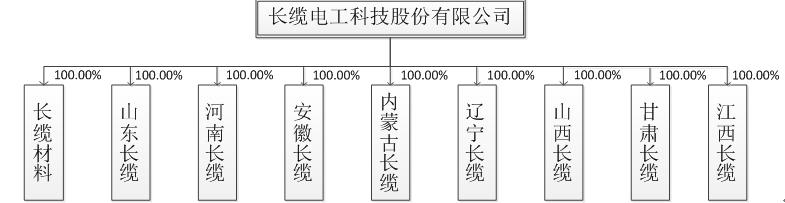 组织结构 | 长缆电工科技股份有限公司